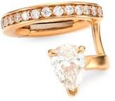 Repossi Serti Sur Vide 18K Rose Gold & Diamond Right Ear Cuff