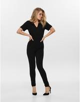 Jacqueline De Yong Short-Sleeved Jumpsuit