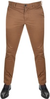 Lacoste Slim Fit Chino Trousers Brown