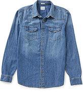 GUESS Western Slim-Fit Denim Shirt