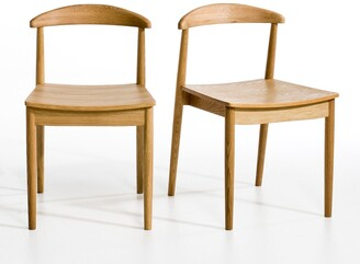 Am.pm. Galb Wooden Chairs (Set of 2)