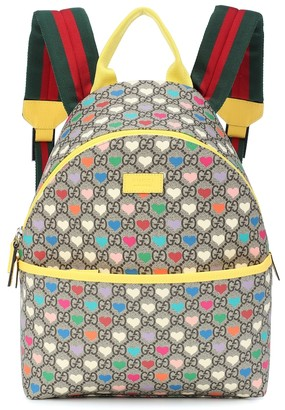 Gucci Kids GG Supreme canvas backpack