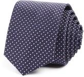 BOSS Dot Print Skinny Tie