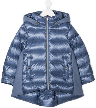 Herno Goose-Down Hooded Jacket
