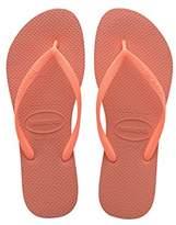 Havaianas Girls Flip Flops Slim - Cyber - Children's Flip Flops, 13 Child UK (31/32 Brazilian) (33/34 EU)