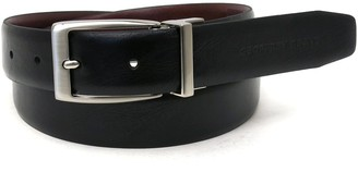 Geoffrey Beene Big & Tall Reversible Feather-Edge Belt