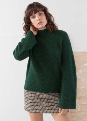 And other stories Alpaca Blend Turtleneck Sweater