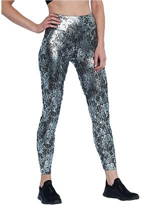 Heroine Sport Lace Leggings (Platinum Lace) Women's Clothing