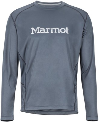 Marmot Men's Windridge with Graphic Long-Sleeve T-Shirt