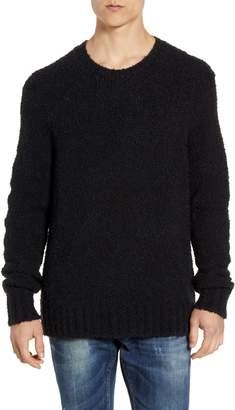 John Varvatos Athens Regular Fit Boucle Sweater
