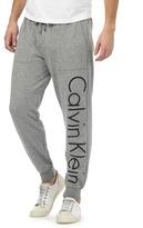 Calvin Klein Grey Logo Print Jogging Bottoms