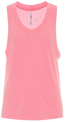 Alo Yoga Model jersey tank top