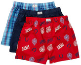 Lucky Brand Woven Boxer - Pack of 3