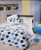 Natural Comfort Twin Bubble Dream twin reversible duvet cover and a bonus pillow sham