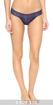 Calvin Klein Underwear Bare Lace Thong