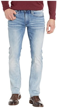 Buffalo David Bitton Ash X Slim Fit Jeans in Crinkled Bleached