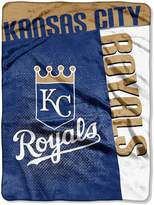 """Northwest Company The Kansas City Royals 60"""" x 80"""" Strike Raschel Blanket"""