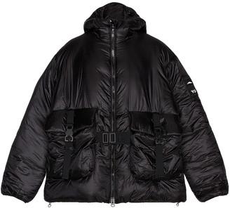 Yohji Yamamoto M Ch3 Lightweight Puffy Jacket in Black | FWRD