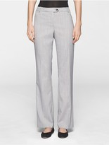 Calvin Klein Straight Fit Glen Plaid Pants
