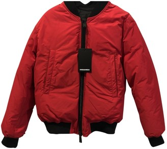 DSQUARED2 Red Coat for Women