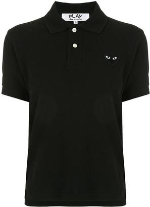 Comme des Garcons Logo-Patch Polo Shirt