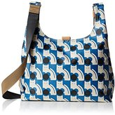 Orla Kiely Poppy Cat Print Midi Sling Bag