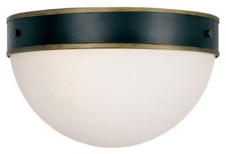 Crystorama Capsule Outdoor Flushmount Light
