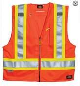 Dickies Men's Hi-Vis Surveyor's Vest
