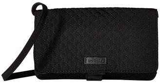 Vera Bradley RFID All Together Crossbody (Classic Black) Cross Body Handbags