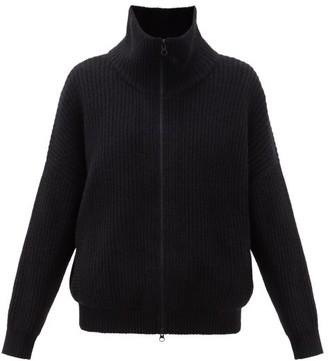 Lisa Yang - Mela Zip-through Ribbed-cashmere Cardigan - Black