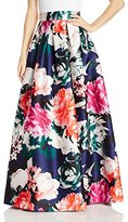 Eliza J Women's Floral Ballgown Skirt