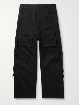 Balenciaga Cotton-Twill Cargo Trousers