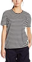 Gerry Weber Women's Dot Striped Short Sleeve T-Shirt,(Manufacturer Size: 40)