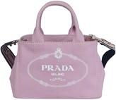 Prada Logo Printed Shoulder Bag