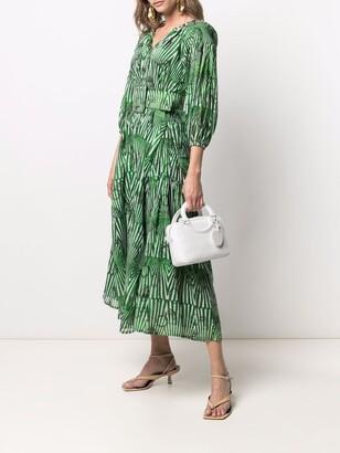 Samantha Sung Nina geometric-print dress