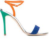 Giuseppe Zanotti Design Party colour block sandals