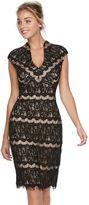 Onyx Nite Women's Lace Sheath Dress