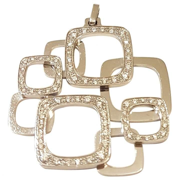 Dinh Van Impression white gold pendant