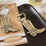 "Kate Aspen Just Hitched"" Cowboy Boot Bottle Opener"