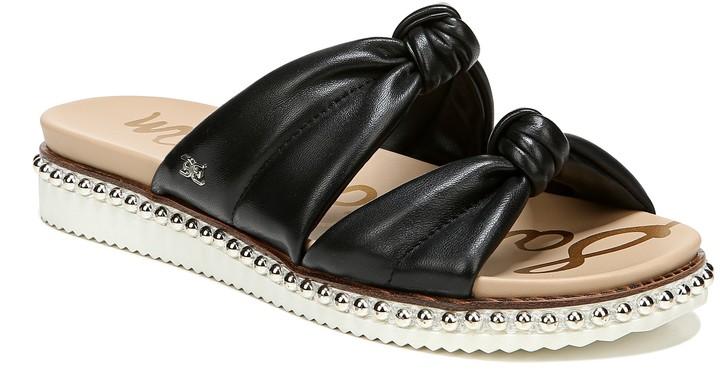 Alyse Knotted Strap Slide Sandal
