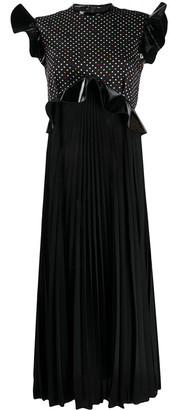 Christopher Kane Polka Dot Pleated Dress