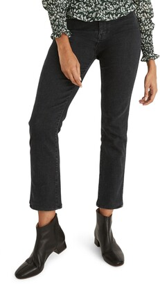 Madewell Stovepipe High Waist Crop Jeans