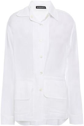 Ann Demeulemeester Cotton And Cashmere-blend Shirt
