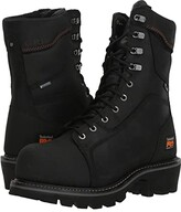 Timberland Ripsaw Logger 9 Composite Toe Puncture Resistant Waterproof (Black) Men's Waterproof Boots