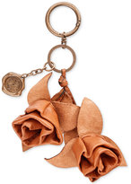 Patricia Nash Fiore Rose Keychain Bag Charm