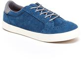Hanna Andersson School Blue Edvard Suede Sneaker