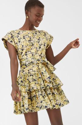 Rebecca Taylor La Vie Serena Fleur Jersey Dress