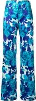 Richard Quinn floral print trousers
