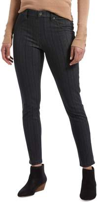 Hue Pinstriped Stretch Jeans