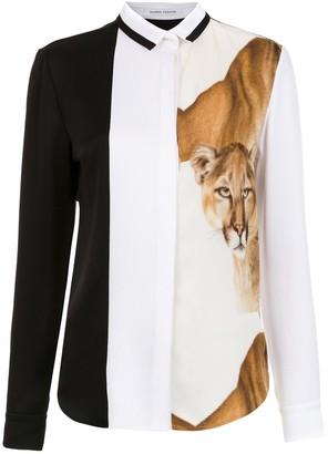 Gloria Coelho Lion shirt